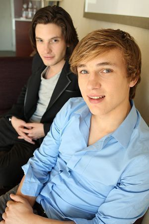 Ben Barnes & William Moseley