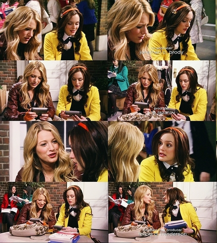 Blair / serena moments