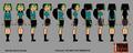 Bridgette rotation-goth - total-drama-island fan art
