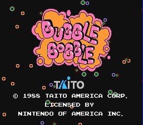 Bubble Bobble Screenshots