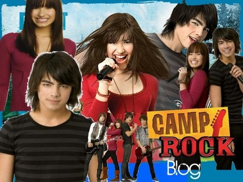 Disney Channel Original Movies wallpaper possibly with a sign and a street entitled Camp Rock rocks!