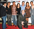 Cast Dante's Cove with Director