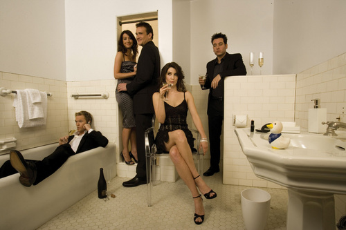 How I Met Your Mother wallpaper titled Cast Promo's