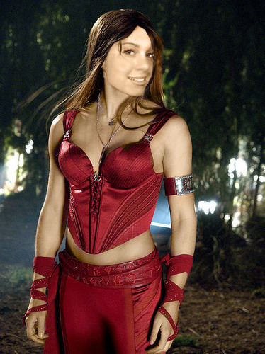 ClassicalNadia as Elektra - fanpop-users Fan Art