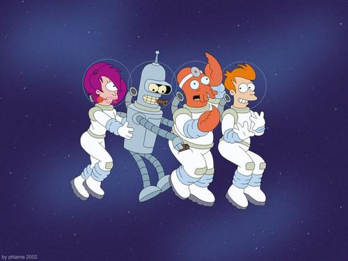 Conga Line - futurama Wallpaper