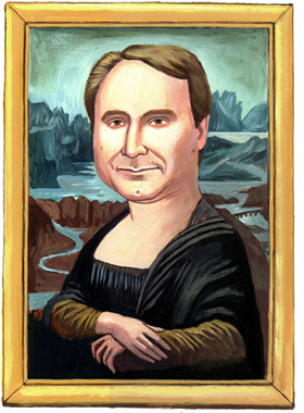 Dan Brown by 'Da Vinci'