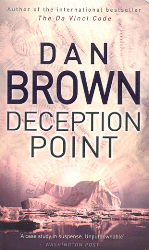 Dan Brown Обои possibly containing a sign and Аниме titled Deception Point