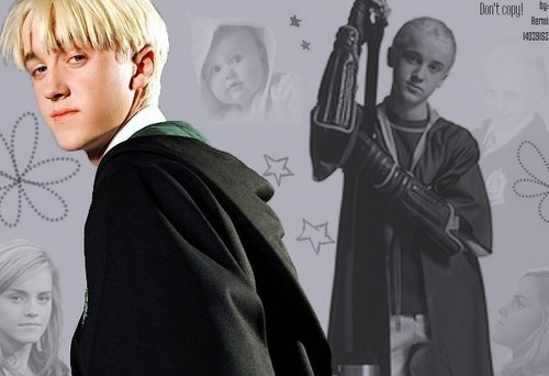 Draco with Hermione