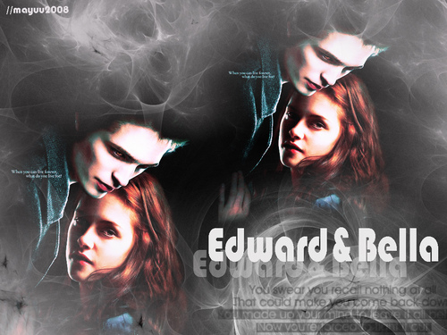 Edward And Bella - twilight-series Wallpaper