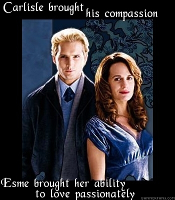 Esme Cullen wallpaper containing a well dressed person titled Esme And Carlisle