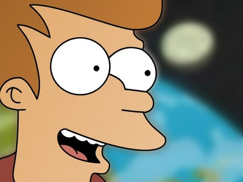 Futurama wallpaper possibly containing anime entitled Fry