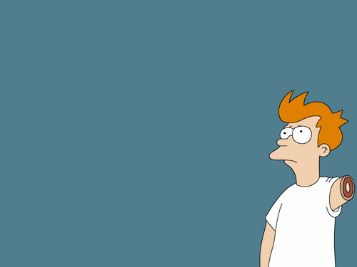 Futurama wallpaper possibly with anime entitled Fry