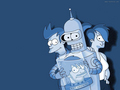 futurama - Head of Matt Groening wallpaper