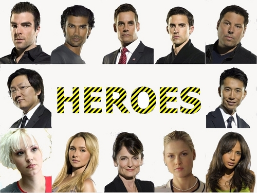 heroes Characters wallpaper