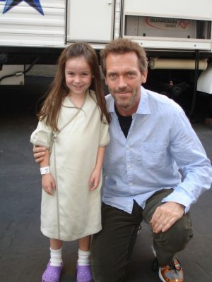 House & patient behind the scenes