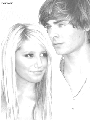 I drew this Zashley picture...comment pleeazzzzz!!!! Thank you<3