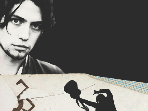 Jackson Rathbone wallpaper possibly with a sign and a newspaper titled Jackson Rathbone