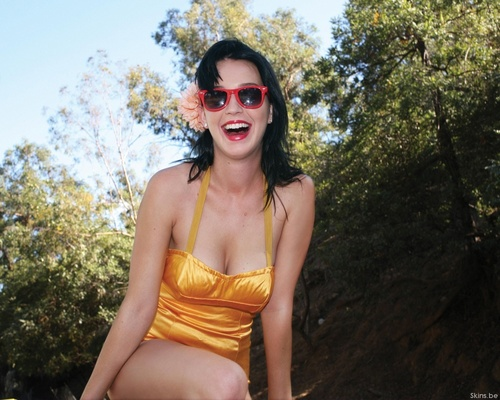 Katy Perry kertas dinding possibly with sunglasses and skin called Katy