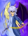Light and darkness, angel Ryou. - ryou-bakura fan art
