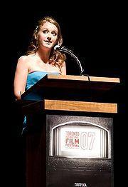 Ludivine Sagnier at the Toronto Film Festival in 2007