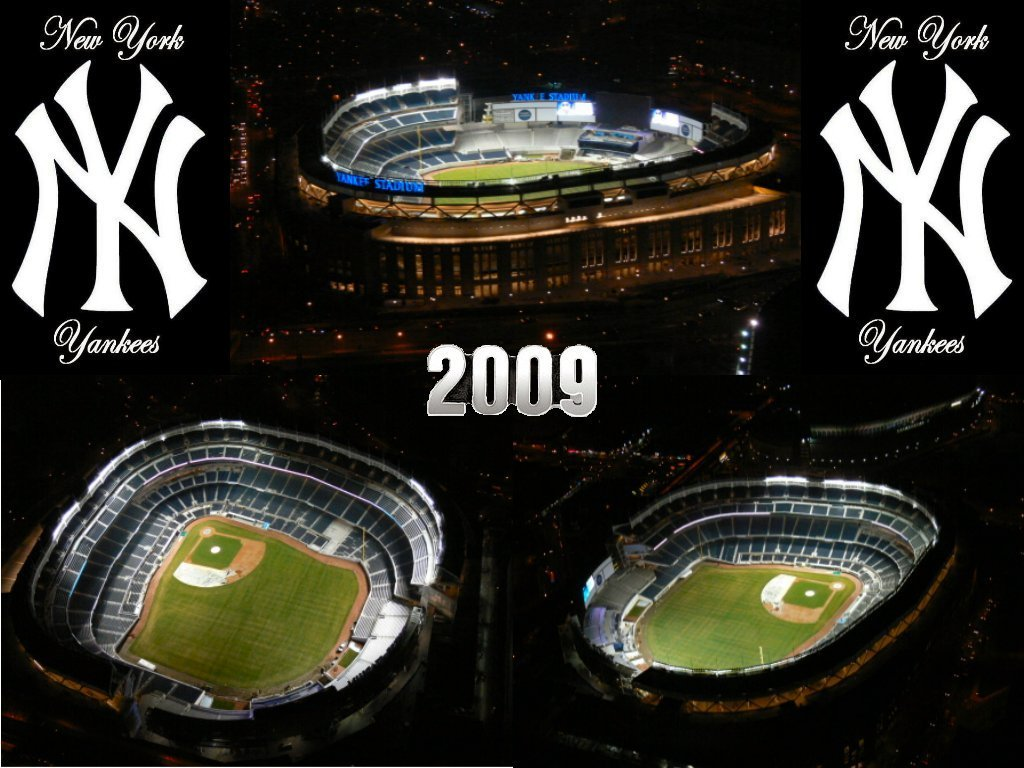 New York Yankees New Yankee Stadium At NightYankee