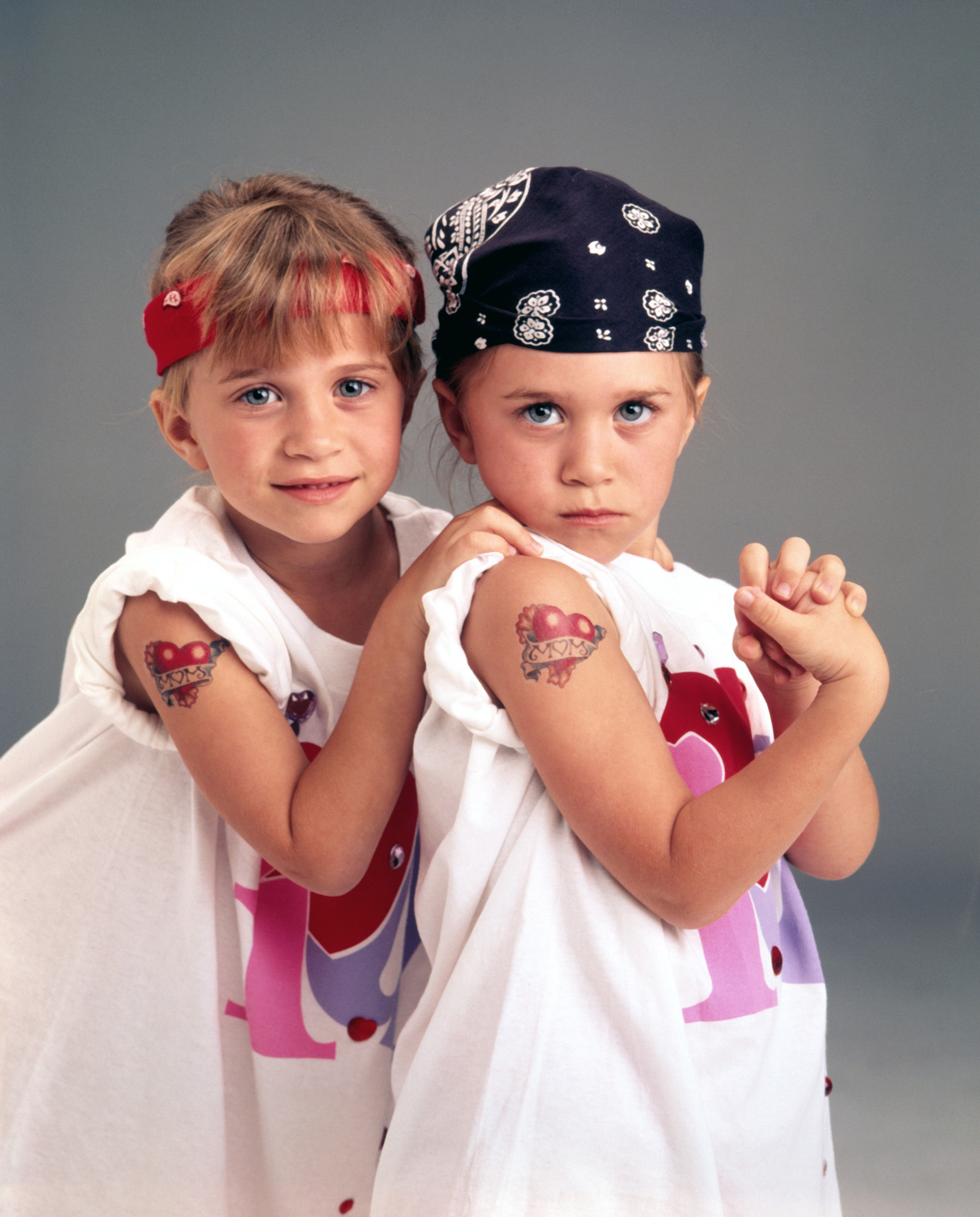 The Olsen Twins as Kids