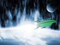 futurama - Planet Express Ship wallpaper