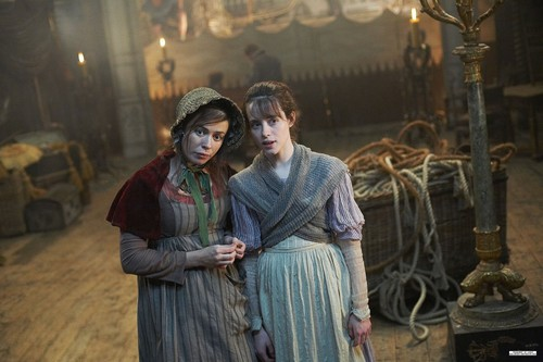 Little Dorrit wallpaper probably with a nightgown and a kirtle called Production Still