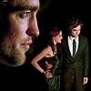 Robert Pattinson & Kristen Stewart photo with a portrait called R&K