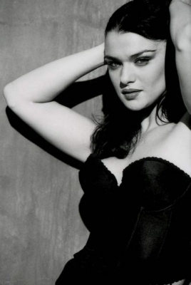 Rachel Weisz wallpaper containing attractiveness and a bustier entitled Rachel