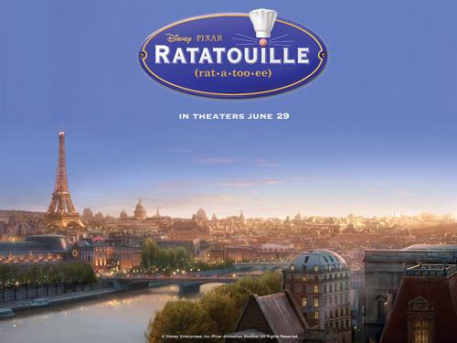 Ratatoille achtergrond