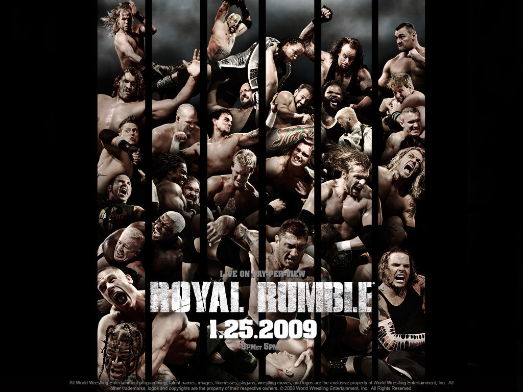 Royal Rumble 2009 - professional-wrestling wallpaper