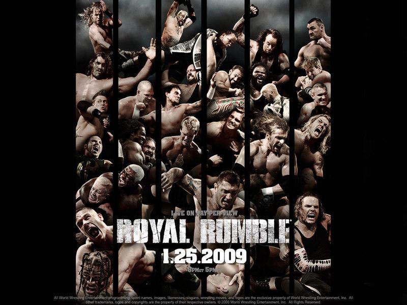 wrestling wallpaper. Royal Rumble 2009 - Professional Wrestling Wallpaper (3250533) - Fanpop