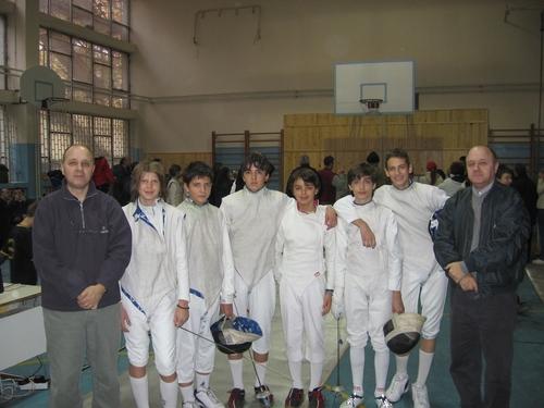SERBIAN FENCERS