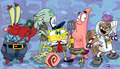 Spongebob Crazy 팬 Art