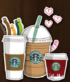 Starbucks Cartoon - starbucks fan art