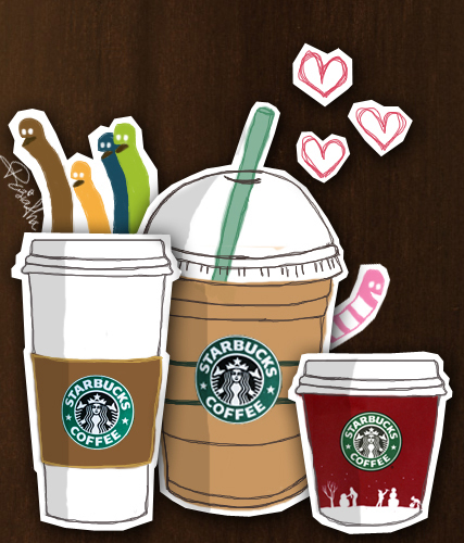 Starbucks Cartoon