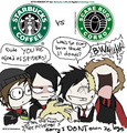 Starbucks Comics - starbucks fan art