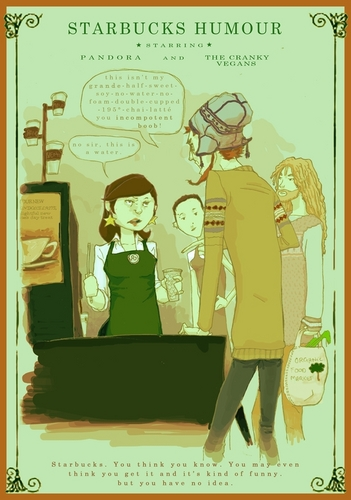 Starbucks Humour  - starbucks Fan Art