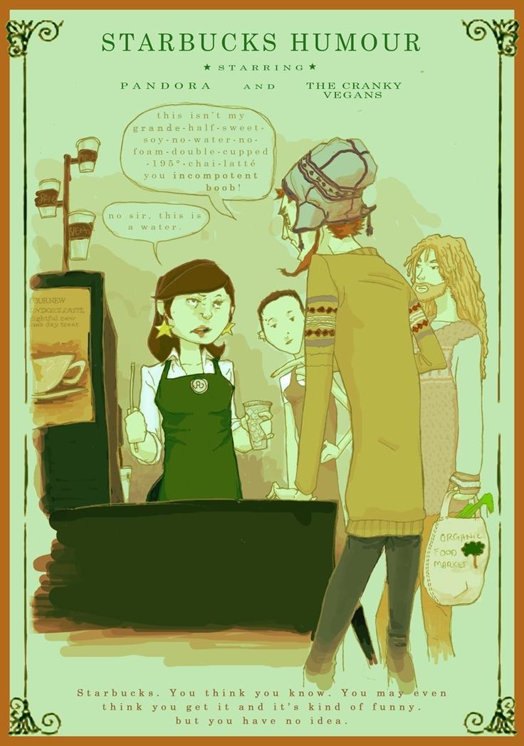 Starbucks Humour - Starbucks Fan Art (3207993) - Fanpop