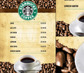 Starbucks Menu - starbucks fan art