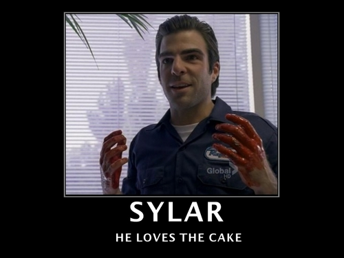Sylar and Cake