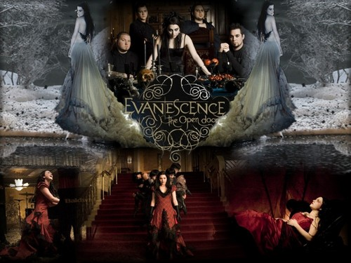 THE OPEN DOOR ABLUM - evanescence Wallpaper