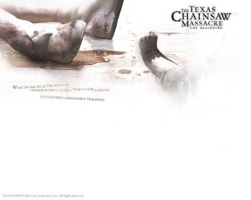 The Texas Chainsaw Massacre 2006 karatasi za kupamba ukuta