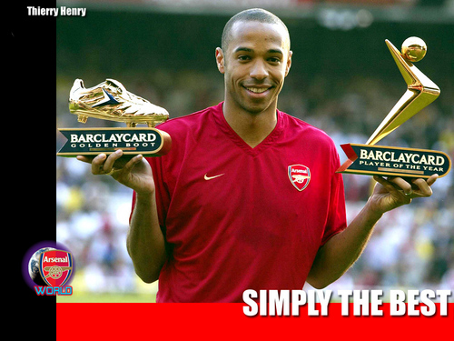 Thierry Henry Arsenal Wallpaper