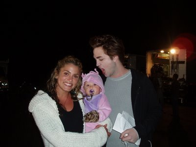 Twilight Cast & Baby