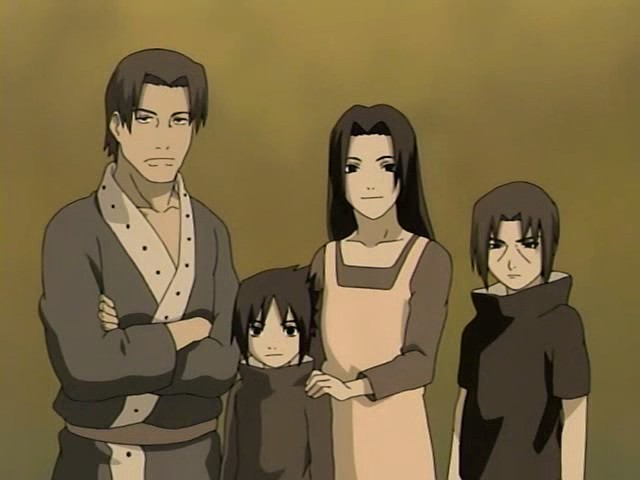Fugaku Uchiha Cartoon Family