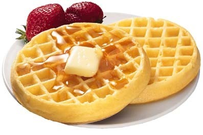 Waffles! YUM!
