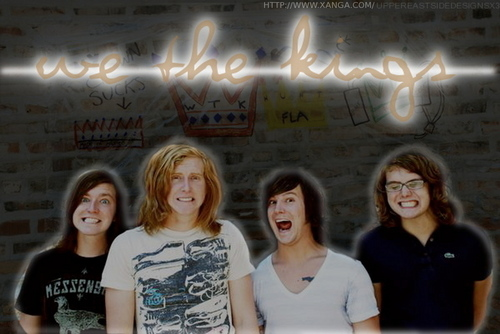 We the Kings wallpaper probably with a sign and a portrait entitled We The Kings