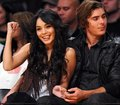 Zanessa at Lakers Game